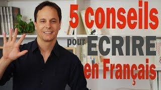 Écrire en Français te permettra de progresser dans toutes les compétences et avec ces conseils, tu vas t'améliorer tout de suite :-) LA FICHE, LE PODCAST ET ...