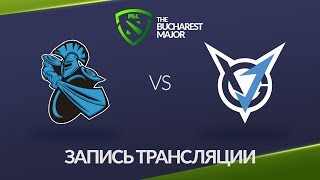 NewBee vs VGJ.Thunder, Bucharest Major, game 1 [Lum1Sit, 4ce]