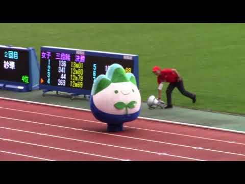 2018日本選手権陸上 ゆるキャラGP アスリオン