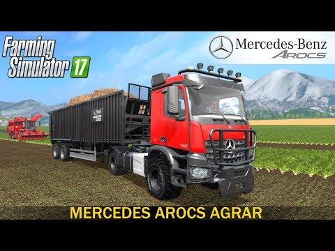 MERCEDES AROCS AGRAR v1.1