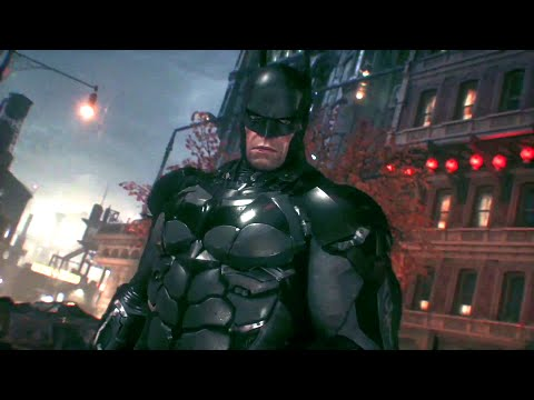 batman: arkham knight - gameplay