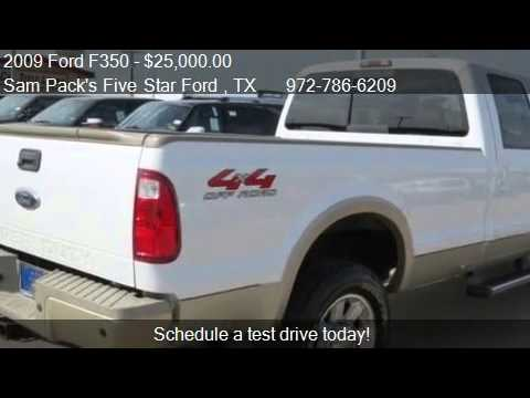 2009 ford f350 king ranch for sale in carrollton tx 75006 watch. Cars Review. Best American Auto & Cars Review