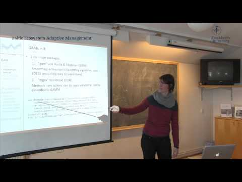 additive - A presentation by Saskia Otto on the PhD course: Modeling to study the Baltic Sea ecosystem - possibilities and challenges Askö Laboratory in March 2013 To B...