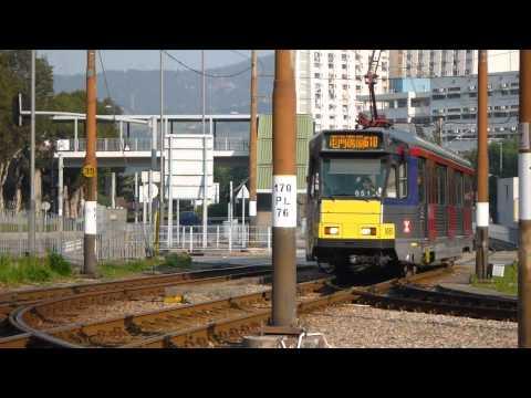 LRT - LRT in Hong Kong, New Territory Area / for camera test of Panasonic DMC-TS3.
