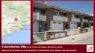 Sant Fruitos De Bages Spain  City new picture : 4 dormitorios Villa se Vende en Sant Fruitós De Bages, Barcelona, Spain