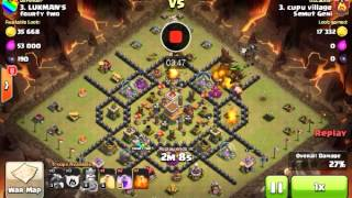 Serangan Naga Efektif TH8 Clash Of Clans
