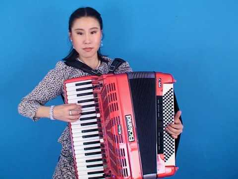 Roland FR7 V Accordion Overview by Annie Gong   Part 1 The Accordion Sounds