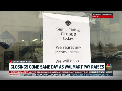 3 Indiana Sam's Club stores are closing