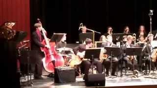 Daniel Hirsch improv on Samba Nautica All County Jazz 1/18/15 @ CW Post Tillies Center. - YouTube