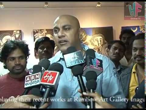 Rainbow Art Gallery Inaugurated by Singer Baba Sehgal at Hyderabad