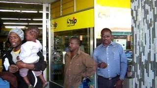 Tsumeb Namibia  City new picture : Pay Day Street Singers Tsumeb Namibia.AVI