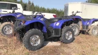 3. First ride on the Yamaha Grizzly 300