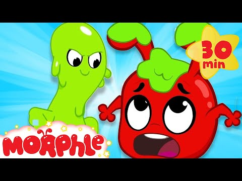 Oh No Moprhle's Slimed - My Magic Pet Morphle | Cartoons For Kids | Morphle TV