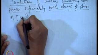 Mod-11 Lec-20 Separated Flow Model - Condition Of Choking