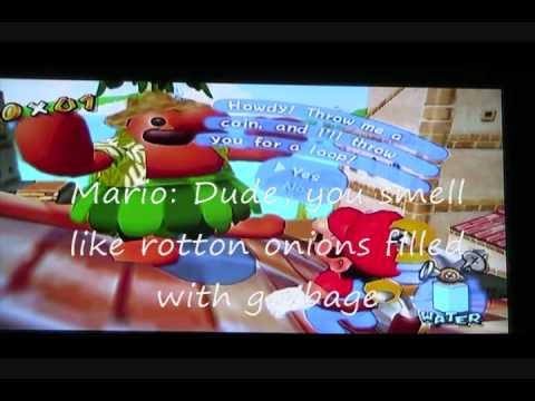 Mario's Random Vacation Bloopers Episode 1: Delfino Plaza