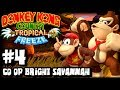 Donkey Kong Country Tropical Freeze (1080p) Part 4 Co Op - World 3 Bright Savannah