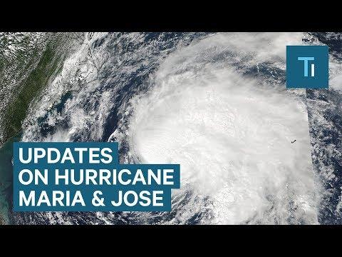 Here are the latest updates on Hurricane Maria and Hurricane Jose