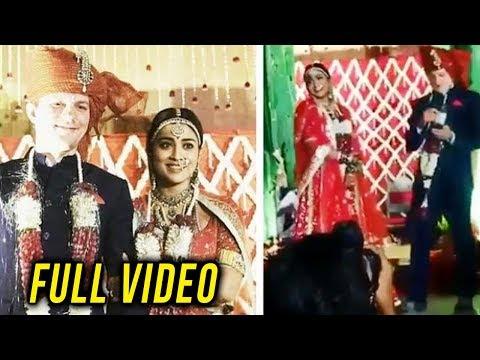 Drishyam Movie Star Shriya Saran's Wedding Video L