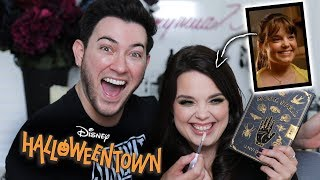 Glam TRANSFORMATION on Marnie from HALLOWEENTOWN! by Manny Mua