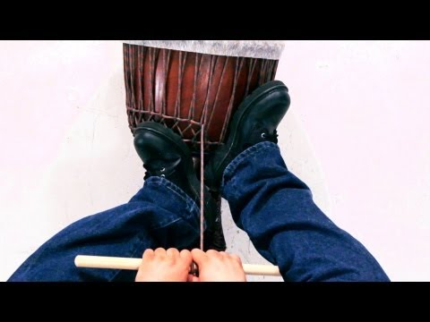 How to Tune a Djembe | African Drums