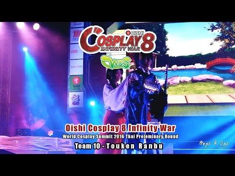 Oishi Cosplay 8 Infinity War – WCS Team 10 – Touken Ranbu
