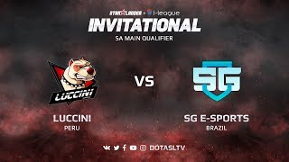 Luccini против SG e-Sports, Вторая карта, SA квалификация SL i-League Invitational S3