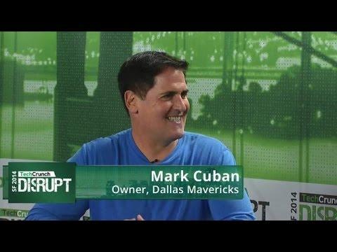 Mark Cuban Backstage Interview   Disrupt SF 2014