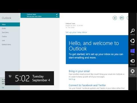 comment installer outlook express sur windows 8