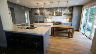 Industrial Design Build Kitchen Remodel in Rancho Santa Margarita Orange County