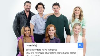 Riverdale Cast Answers the Web's Most Searched Questions | WIRED