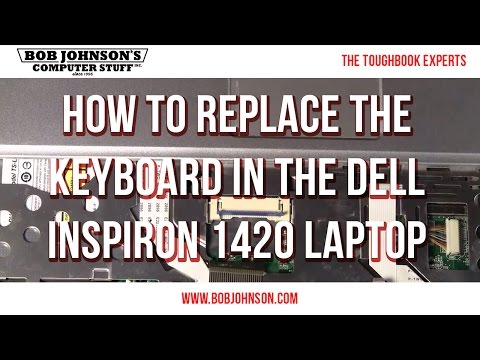 How to replace the keyboard in the Dell Studio 1745 Laptop