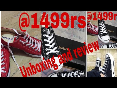 New Converse all star shoes 2018 review in hindi / Converse chuck Taylor/Most affordable shoes