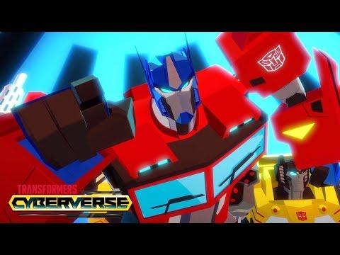 Transformers Cyberverse España - 'Eruption' 🔥 Episodio 18 | Transformers Official