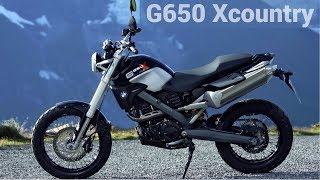 1. BMW G 650 Xcountry [2006-2012] - Review and Ride