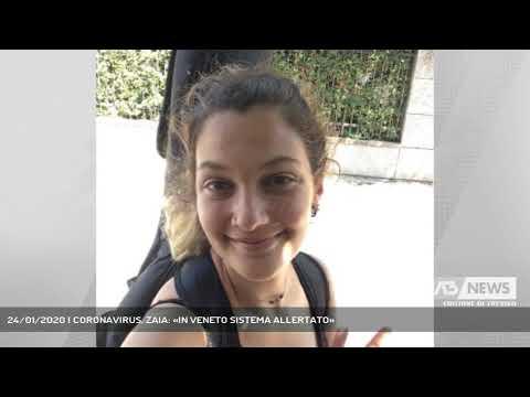 24/01/2020 | CORONAVIRUS. ZAIA: «IN VENETO SISTEMA ALLERTATO»