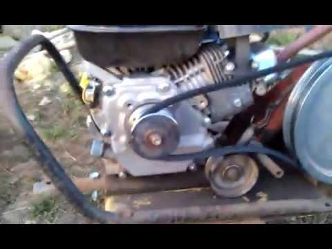 Площадка для двигателя мотоблока своими руками