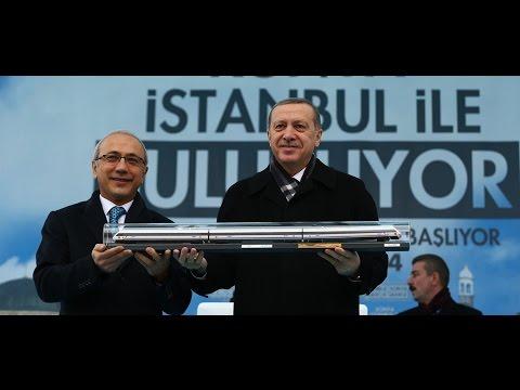 Erdoğan Konya'da YHT Açılış Töreninde Konuştu
