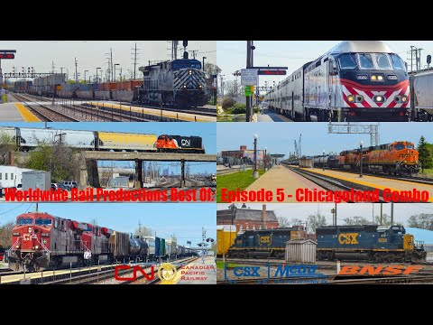 Worldwide Rail Productions Best of Series: Episode 5 - Chicagoland Combo