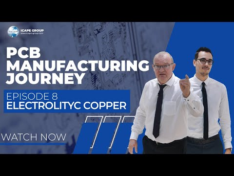 PCB Journey Episode 8, Electrolytic Copper