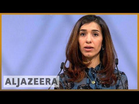 🏆Nobel prize winner Nadia Murad full speech l Al Jazeera English