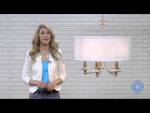 Video for Midtown Matte Nickel Five-Light Chandelier