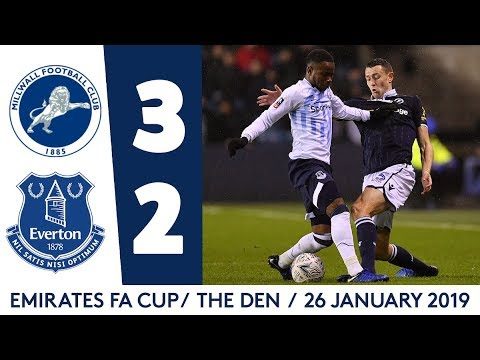 Video: FA CUP HIGHLIGHTS: MILLWALL 3-2 EVERTON