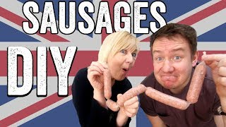 Homemade UK Sausage Recipe (Bangers) by  My Virgin Kitchen