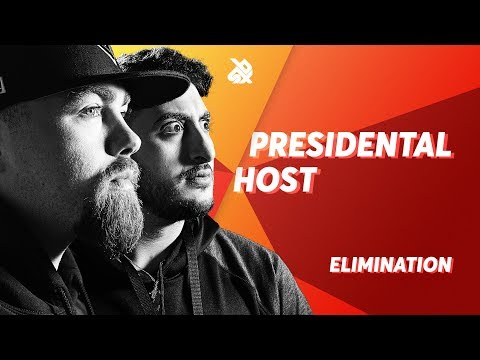PRESIDENTAL HOST (Scott Jackson & BBK)  |  Grand Beatbox TAG TEAM Battle 2018  |  Elimination