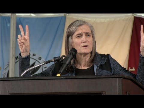 hampshire - Amy Goodman, investigative journalist, author and host of the global news hour, Democracy Now, delivers her keynote speech at the 2013 Spring Commencement ce...