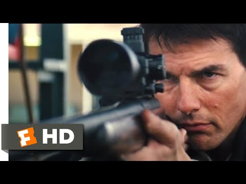 Jack Reacher (2012) - The Shooting Range Scene (8/10)   Movieclips
