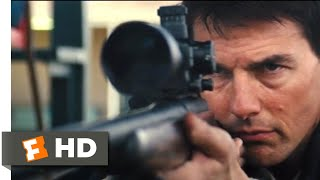 Jack Reacher (2012) - The Shooting Range Scene (8/10) | Movieclips