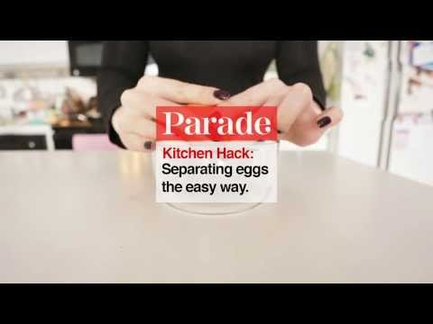 Kitchen Hack - Separating Eggs the Easy Way