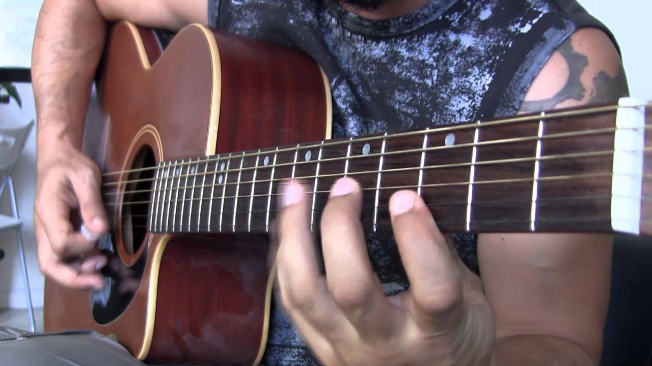 Acoustic Guitar Shredding! Impro by Listen Angel