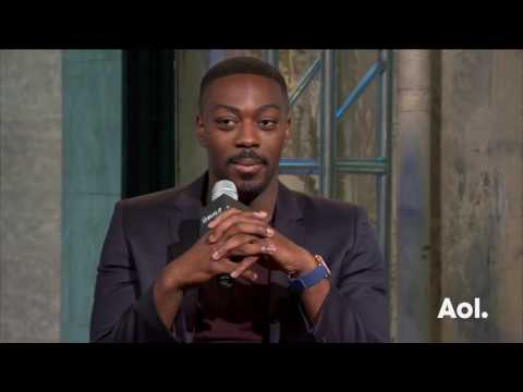 "David Ajala On ""Falling Water"" 